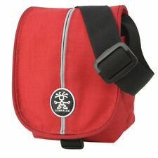 Crumpler 'The Pretty Boy 220' Camera bag - Red/Silver