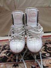 New listing Jackson Premiere Women's White Leather Ice Skates size 6 1/2A