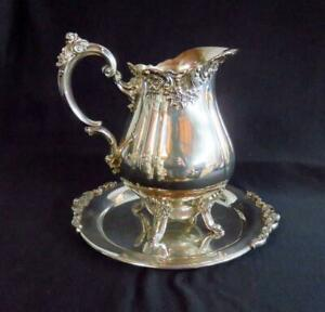 Wallace Baroque Antique Us Silver Plated Pitchers Jugs For Sale Ebay