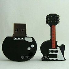 Lovely Guitar Shaped 8GB USB 2.0 Flash Drive Memory Stick Pen U Disk Thumb Gifts