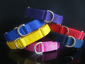 Boomerjacks 1inch Double Strength Martingale Collar/Greyhound & Many Breeds