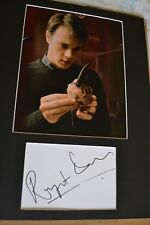 "RUPERT EVANS AUTOGRAPH SIGNED  CARD (10"" X 8""  PHOTO) (HELLBOY) COA     55"