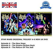 STAR WARS ORIGINAL TRILOGY 4 - 6 Theatrical Remastered 4 5 6 New UK 6 Discs DVD