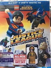 LEGO DC Super Heroes Justice League: Attack of the Legion of Doom Blu-ray Figure
