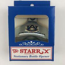 New AU AUBURN UNIVERSITY Wall Mount Starr X Stationary Bottle Opener GREAT GIFT!