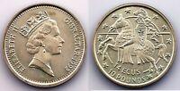 Gibraltar-Isabel II. 14 Ecus Caballero. 1992. SC/UNC. Plata 10.1 g.
