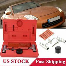 35x Professional Tire Repair Set Car Truck Puncture Tools Flat Tubeless Plug Kit