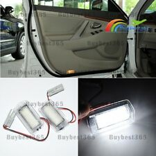 2x Xenon White Lamp LED Door Step Courtesy Lights for Camry Corolla Toyota Prius