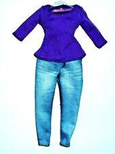 %***Original Barbie Curvy Kleidung*Langarmshirt+Treggings/Leggings***%