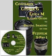 Book & DVD Digital imaging with mirrorless: Contarex, Leica M & Contax G Lenses