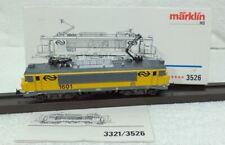 Marklin 3526 NS Nederlandse 1601 AMSTERDAM volledig metaal 5 polig ANALOOG
