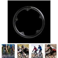 MTB Bicycle Crankset Cap Plastic Chain Wheel Cover 5 Holes Protective Guard New