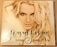 Britney Spears - Femme Fatale USA Matt Finish Cd Gatefold Digipak With Booklet