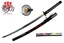 Onikiri Fully Handmade Empire Wheel Carbon Steel Japanese Katana Training Sword