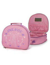 Girl's Pink Soft Vanity Case with Ballet Shoe Motif-Roch Valley RVLPSA
