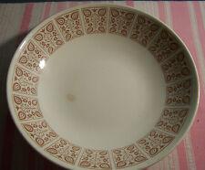 "Royal China Chantilly Sandlewood Round Vegetable Serving Bowl 9"""