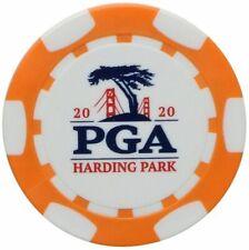 2020 PGA CHAMPIONSHIP (Harding Park) - ORANGE - POKER CHIP Golf Ball Marker
