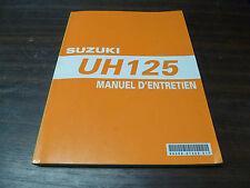 MANUEL REVUE TECHNIQUE D ATELIER SUZUKI UH 125 BURGMAN 2007 K7 ENTRETIEN