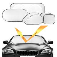 6pcs Satz Auto Windschutzscheibe Seitenfenster Sonnenblende Abdeckung UV Schutz
