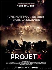 Affiche 120x160cm PROJET X (PROJECT X) 2012 Nima Nourizadeh - Alexis Knapp NEUVE