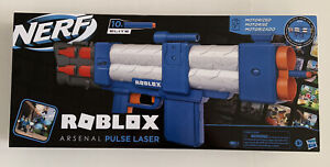 Brand New Hasbro Nerf Roblox Arsenal Pulse Laser With In Game Digital Code