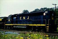 Duplicate Slide Central Railroad of New Jersey CNJ 3681 Phillipsburg, NJ 1977