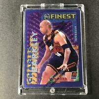 CHARLES BARKLEY 1995 TOPPS FINEST #RV-27 VETERAN INSERT W/ COATING SUNS NBA HOF