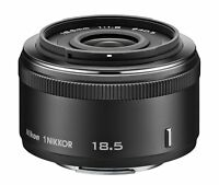 Nikon 1 NIKKOR 18.5mm f/1.8 Black Lens For Nikon CX Format w/ Tracking NEW