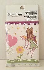 Wallpaper Border Bombay Kids Fairy Garden Flowers Floral Hearts Fairies 15ft