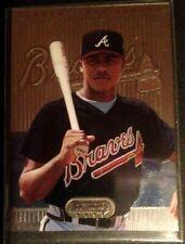 Andruw Jones RC - 1995 BOWMANS BEST BLUE  ROOKIE #7 - Atlanta Braves NM