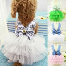 Pet Puppy Dog Birthday Cake Dress Clothes Doggie Lace Tutu Skirt Chihuahua Hot