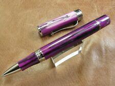 Montegrappa Ducale Murano Viola Veneziano Roller ball Pen Brand New / Box