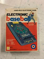 Electronic Baseball by Entex Electronics 1979 Original Box No. 8001
