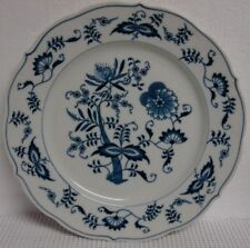 Blue Danube BLUE ONION Bread Plate BANNER BACKSTAMP More Items Available