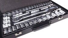 "Vorlux 42pc unidad 1/2"" Mm Métrico & Imperial AF SAE Extensible Socket Set 1098"