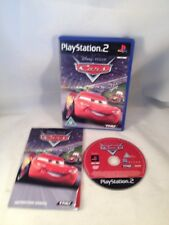 DISNEY PIXAR CARS SONY PLAYSTATION 2 PS2 GAME WITH MANUAL