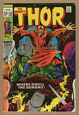 Thor - Set of 2 - 2nd & 3rd Brief App. of Warlock! - 1969 (Grade 5.5/6.0) Wh