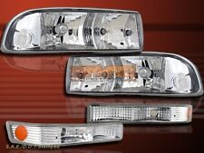 98-04 CHEVY S10 BLAZER ALTEZZA HEADLIGHTS+BUMPER LIGHTS