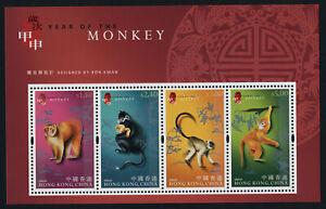 Hong Kong SAR 1076b MNH Year of the Monkey