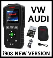 VOLKSWAGEN VW DIAGNOSTIC SCANNER TOOL CODE READER CHECK ENGINE ABS SRS LIGHT