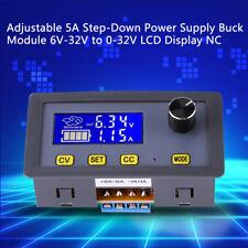 DC 6V-32V to DC 0-32V 5A Digital Leistung Step Down Netzteil Buck Wandler Modul