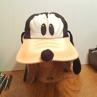 Vtg Disney Goofy Snapback Trucker Hat, Ears & Nose Vintage Hat