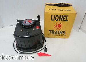 VINTAGE LIONEL TRAINS TYPE KW TRAINMASTER TRANSFORMER 190 WATTS 115 VOLTS- WORKS