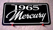 1965 Mercury license plate tag 65 Comet Caliente Cyclone Park Lane Monterey