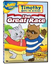 NEW DVD -KABOOM - TIMOTHY GOES TO SCHOOL - THE GREAT RACE - 4 EPISODES - 50min
