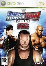 SMACKDOWN VS RAW 2008 XBOX 360 NUOVO MICROSOFT ITALIANO