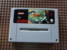 Super Nintendo Spiel Modul Earthworm Jim SNES PAL N77