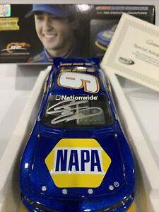 2014   #9 NAPA Chase  Elliott Autographed COA 1/24