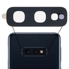 Replacement For Samsung Galaxy S10E Back Rear Camera Glass Lens Cover + Adhesive
