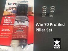 Winchester 70 DELUXE Profiled Pillar DIY Stock Pillar Bedding w/ DEVCON